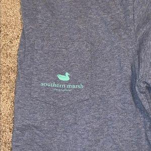Southern marsh long sleeve t shirt